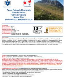 Escursione al M.te Tino (Gruppo Sirente-Velino)