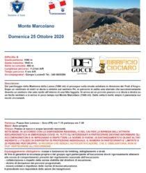 Escursione del 25 ottobre 2020 – Monte Marcolano – PNALM