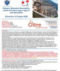 Escursione del 14 giugno 2020 – Subiaco, Monasteri Benedettini